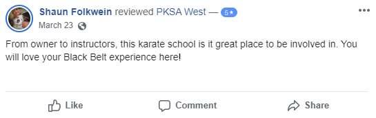 Pksatest4, Vitali Family Karate