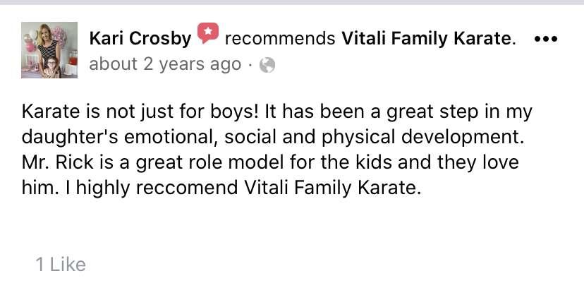 Kids 4, Vitali Family Karate