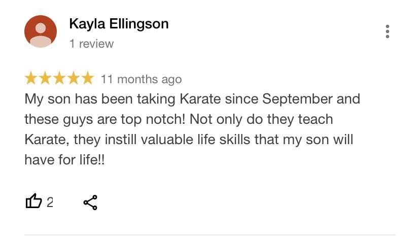Little Dragons 4, Vitali Family Karate